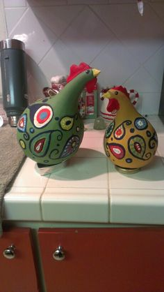 Gourds chickens