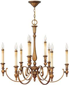 Yorktown Colonial Chandelier With 9 Lights | House of Antique Hardware
