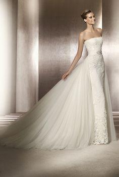 Manuel Mota wedding dress