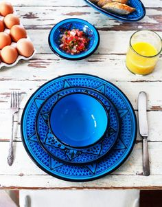 The Little Market Le Souk Ceramique Dinnerware I HAVE SO MUCH Fiesta Wear I dont need these BUT OMG I NEEEEED THESE!
