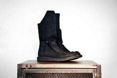 Rick Owens hiking boot