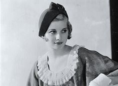 . 1930s : Lucille Ball as a young woman