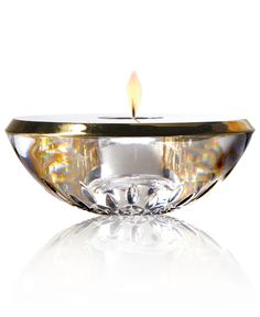 Waterford Gifts, Lismore Essence Gold Votive - Candles & Home Fragrance - Macy's $143