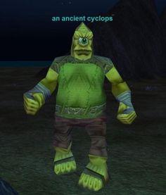 an ancient cyclops