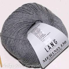 Merino 130 compact Hellgrau melange Lang Yarns