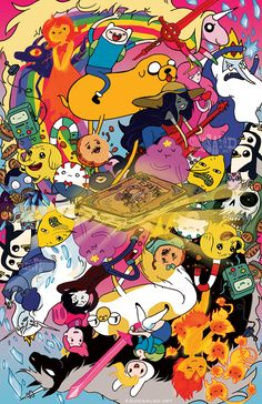 Adventure Time Reversible Cover by Tsubasa-No-Kami.deviantart.com on @deviantART