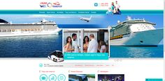 Cruise Transfer - Desenvolvimento de site com sistema de compra de transfers com boleto bancário