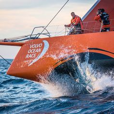 Capturing life at the extreme. Photo by Marc Bow/Volvo Ocean Race #volvooceanrace