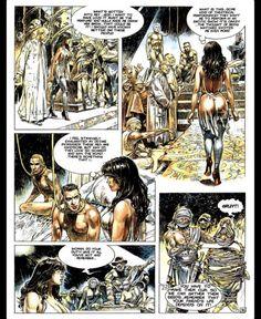 Druuna Mandragore by Paolo Eleuteri Serpieri Comics In English, Serpieri, Erotic Art, Heavy Metal, Character Inspiration, Weird, Sci Fi, Wonder Woman, Ink
