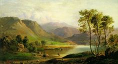 Robert Scott Duncanson (1821-1872) #BHM #Art Widely celebrated for his landscape paintings, he is thought to be the first b...