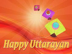 Wish You Happy Uttarayan My All Friends. Happy Makar Sankranti, Festivals Of India, All Friends, Feeling Happy, Are You Happy, January 14, Holiday, Kites, Vacations