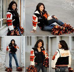 senior picture- fav things Cheerleading Senior Pictures, Cheerleading Poses, Senior Cheerleader, Cheerleading Cheers, Cheer Poses, Cheer Stunts, Volleyball Pictures, Softball Pictures, Fall Senior Pictures