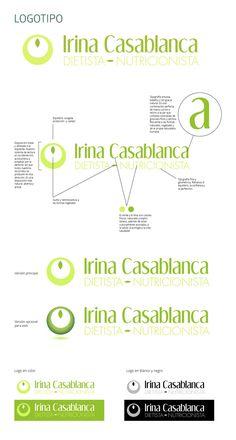 La identidad visual de la dietista-nutricionista Irina Casablanca es un marca basada en la frescura, la cercanía y la ocurrencia. La identidad se basa en un logotipo basado en el equilibrio, la protección y la exactitud, con una tipografía sinuosa que recuerda a naturaleza vegetal junto con una tipografía geométrica light que hace referencia a la perfección y equilibrio perfecto. Los colores de la marca son un juego de tonos tropicales, frescos y jóvenes, que recuerdan a los que encontramos…