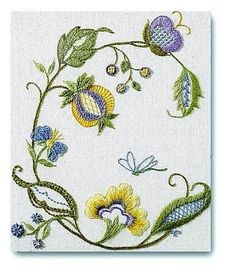 GCC Crewel Confidence by Judy Jeroy (CA Wells & Embroiderers Guild of America)
