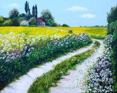 Colours of May by Paula Oakley   Artgallery.co.uk