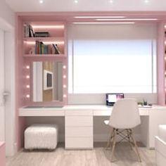 Teen Bedroom Designs, Bedroom Decor For Teen Girls, Room Design Bedroom, Bedroom Furniture Design, Small Room Bedroom, Room Ideas Bedroom, Home Room Design, Room Ideas For Girls, Teenage Room Decor