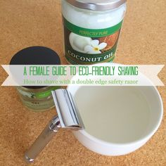 A female guide to eco-friendly shaving: How to shave with a double edge safety razor