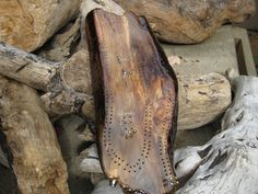 Driftwood Cribbage Board