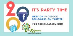 We are Not Big Branded people, We are not Celebrities , We are not big Investors, But, We are the Best Techy Entrepreneurs Supporters. Its happy to See 200 FB Likes and 200 Followers on Twitter in span of 11 days https://www.facebook.com/srikalpataru/
