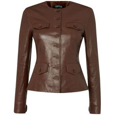 Lauren Ralph Lauren Leather jacket with pockets - Outfit 730