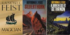 The Riftwar Saga by Raymond E. Feist. Epic fantasy at its best.