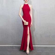 35e4b7f5193c 27 Best Fishtail dress images | Long gowns, Cute dresses, Dress skirt