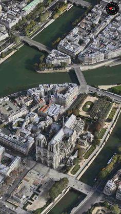 Ile St Louis. Paris, FRANCE