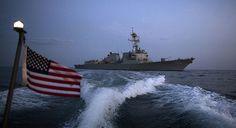 Basra Körfezi'nde ABD donanmasına ait seyir halindeki güdümlü füze destroyerinden İran gemisine uyarı fişeği atıldığı bildirildi.Bahreyn'de bulunan ABD Donanması 5.   #Arnavutluk #Balkan #Balkan Haberler #Balkan Rehberim #balkanlar #Haber #Haberler #Makedonya