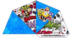 Minions Superheroes: Free Party Printable.