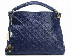 Louis Vuitton Genuine Leather Handbag M93450 - Blue http://www.cent-store.com/louis-vuitton-2012-new-arrivals-c-1_20_9_24_27.html