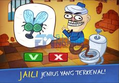 Troll Face Quest Video Games 2 1.1.1 Mod APK Untuk Android