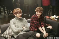 #baekyeol #chanbaek #EXO || THERE CAN NEVER BE TOO MANY PICTURES OF THESE TWO TOGETHER <3