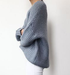 Love the chunky knit
