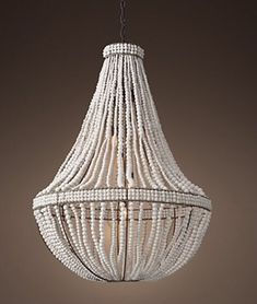 Restoration Hardware Happy Totally Coastal Tuesday! This chandelier is absolutely stunning (I've seen it in person) and for some reason, I think it has a classic coastal style! (Not everything has to be seashells and palm trees, you know!) Here's another photo… Hoping everyone is having a wonderful day!
