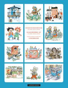 Klassiske barnebøker av blant annet Torbjørn Egner, Astrid Lindgren og Elsa Beskow Elsa Beskow, The Funny, Literacy, Playing Cards, Culture, Reading, Children, Books, Dental Health