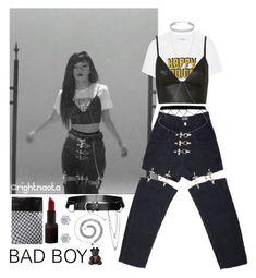 """SEULGI - Bad Boy teaser"" by rightnaota ❤ liked on Polyvore featuring Ganni, M.Y.O.B., T By Alexander Wang, Miss Selfridge, NARS Cosmetics, Swarovski and Puma"