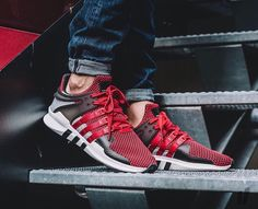 size 40 d3784 0a94d Adidas EQT Support ADV   Sep 2016 (red) Zapatillas Sneakers, Zapatillas  Hombre, · Zapatillas SneakersZapatillas HombreCalzado HombreZapatos ...