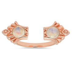 Deco Ring in Rose Gold or Antique Silver version, either one because Kristen is amazing and I want to stack these rings all day