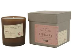 Fire up this Jane Austen's Library candle from Paddy Wax and everyone will be feeling the love. Trust us, the scent is outta this world!   Featured in our #JanesNightIn hostess gift basket