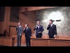 Tribute Quartet sings Those Who Know Me Know - YouTube
