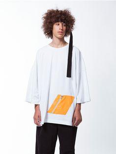 OVERSIZED RHOMBUS T-SHIRT – WHITE | SHOOP Clothing