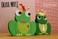 DIY Frog Shaped Boxes