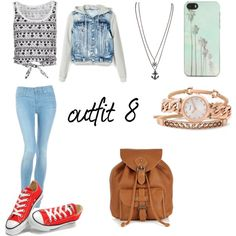 """""""outfit 8"""" by noemi-carrasco on Polyvore"""