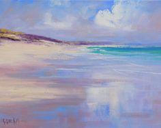 Playa pinturas impresionistas costera arte por Graham Gercken