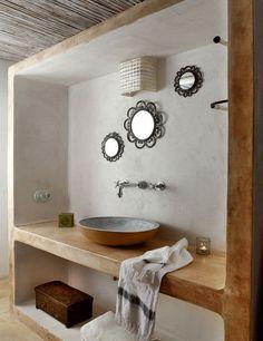 specchio per bagno con cornice   Bathroom mirror