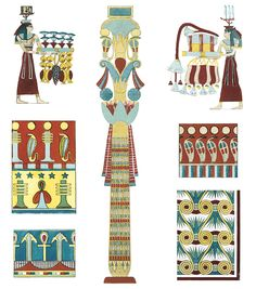 Full-Color Egyptian Ornament