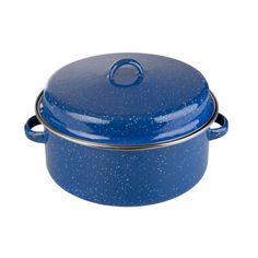 GSI Outdoors 4-Quart Stock Pot (Blue), (camping ...
