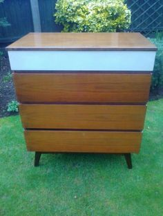 Meredew-1960s-Four-Drawer-Chest