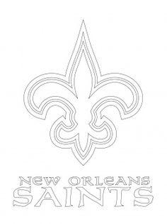 printable saints logo 49ers logo coloring page new orleans saints logo