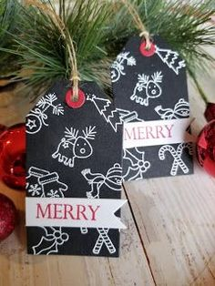 25 Days of Christmas Tags ~ Day 6